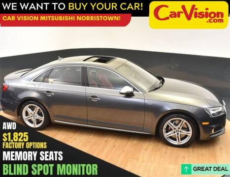 2018 Audi S4 for sale at Car Vision Mitsubishi Norristown in Norristown PA