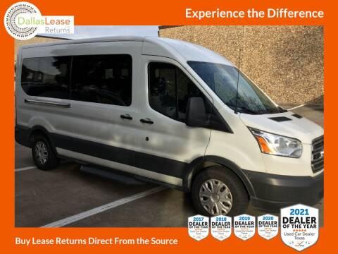 2018 Ford Transit Passenger for sale at Dallas Auto Finance in Dallas TX