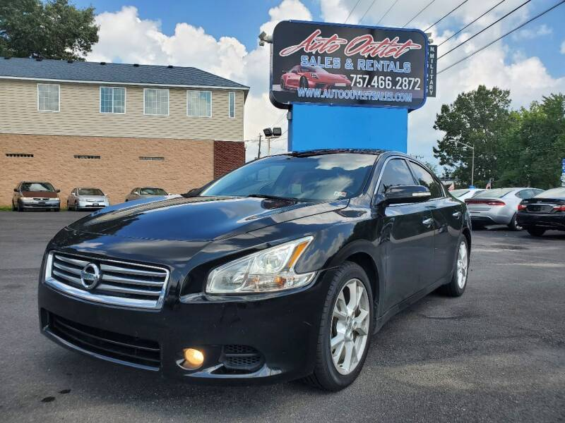 2014 Nissan Maxima for sale at Auto Outlet Sales and Rentals in Norfolk VA