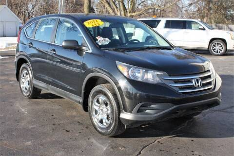 2012 Honda CR-V for sale at LJ Motors in Jackson MI