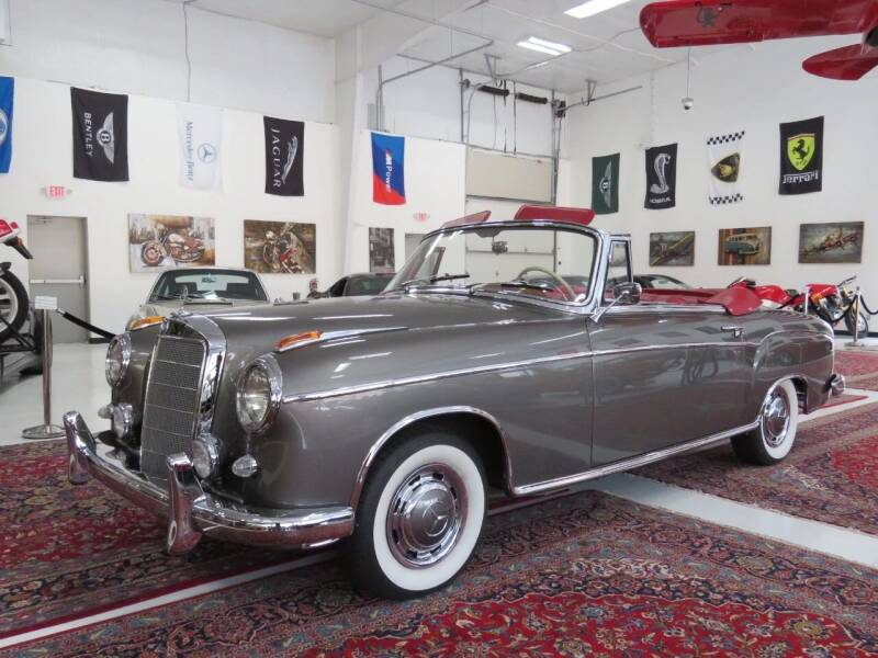 1959 Mercedes-Benz S-Class for sale at Cabriolet Motors in Morrisville NC