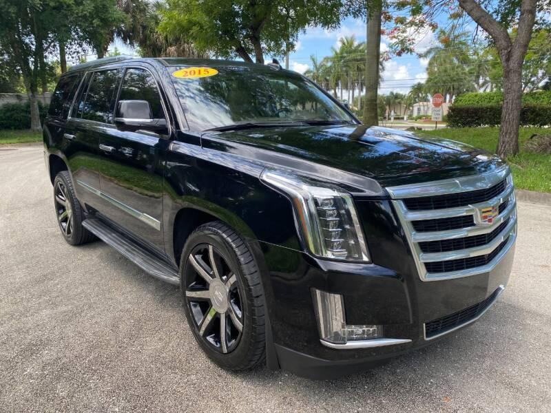 2015 Cadillac Escalade for sale at DELRAY AUTO MALL in Delray Beach FL