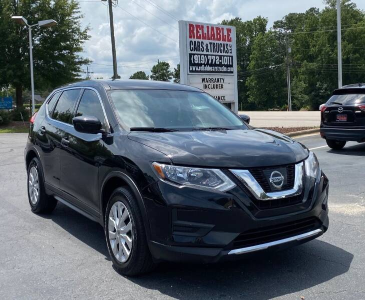 2017 Nissan Rogue for sale at Reliable Cars & Trucks LLC in Raleigh NC