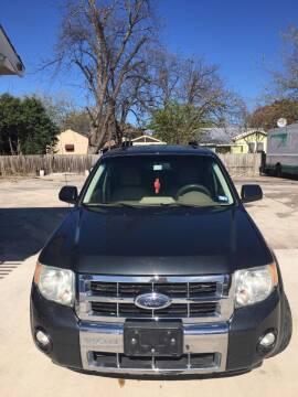 2008 Ford Escape for sale at Progressive Auto Plex in San Antonio TX
