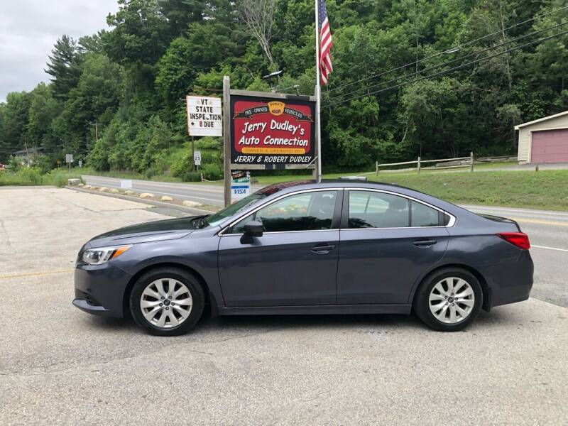 2015 Subaru Legacy for sale at Jerry Dudley's Auto Connection in Barre VT