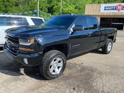 2017 Chevrolet Silverado 1500 for sale at Matt Jones Preowned Auto in Wheeling WV