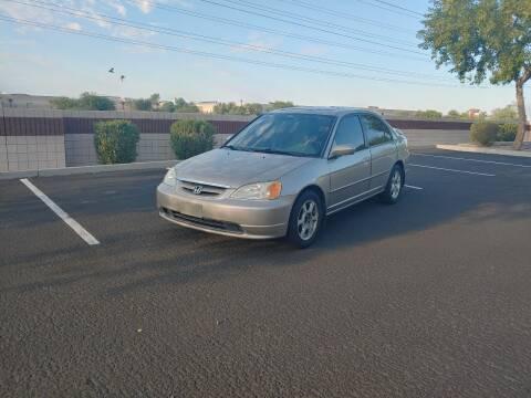 2002 Honda Civic for sale at Sooner Automotive Sales & Service LLC in Peoria AZ