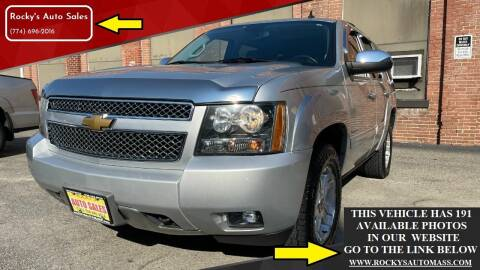 2012 Chevrolet Tahoe for sale at Rocky's Auto Sales in Worcester MA