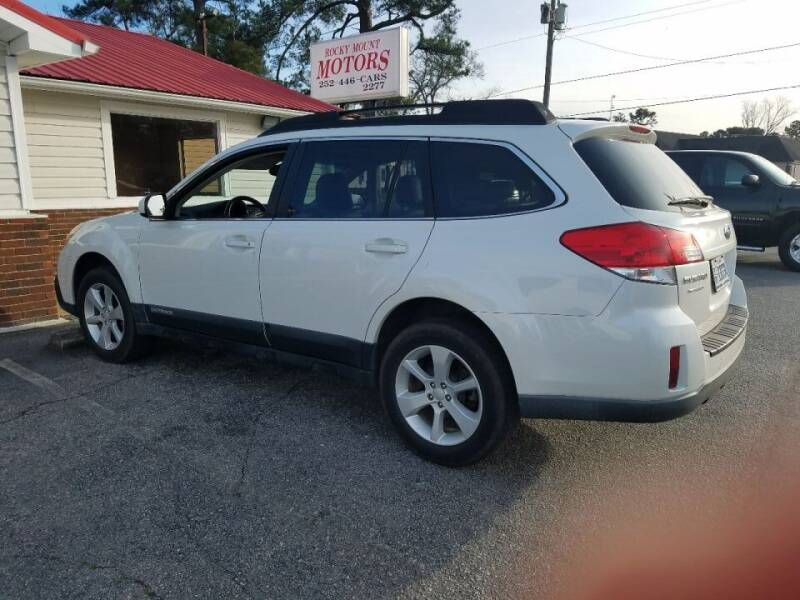 2013 Subaru Outback for sale at Rocky Mount Motors in Battleboro NC