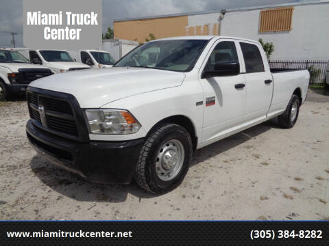 2012 Dodge RAM 250 for sale at Miami Truck Center in Hialeah FL