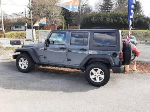 2014 Jeep Wrangler Unlimited for sale at Green Tree Motors in Elizabethton TN