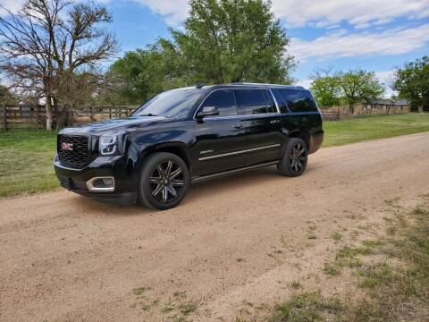 2015 GMC Yukon XL for sale at TNT Auto in Coldwater KS