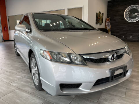 2010 Honda Civic for sale at Evolution Autos in Whiteland IN