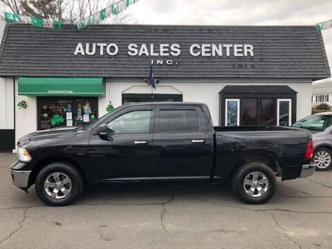 2015 RAM Ram Pickup 1500 for sale at Auto Sales Center Inc in Holyoke MA