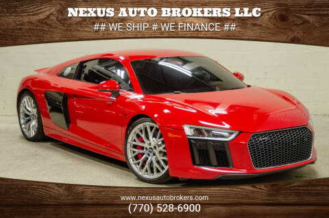 2017 Audi R8 for sale at Nexus Auto Brokers LLC in Marietta GA