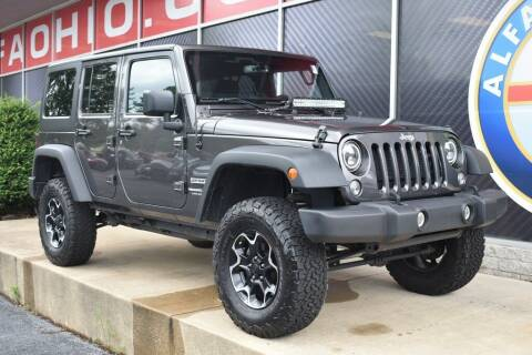 2018 Jeep Wrangler JK Unlimited for sale at Alfa Romeo & Fiat of Strongsville in Strongsville OH