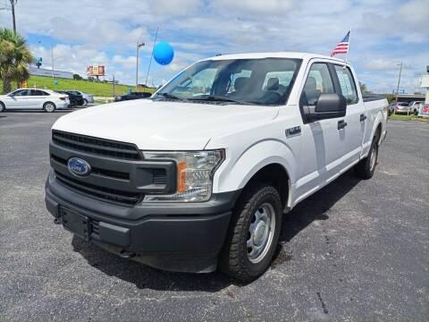 2018 Ford F-150 for sale at Sun Coast City Auto Sales in Mobile AL