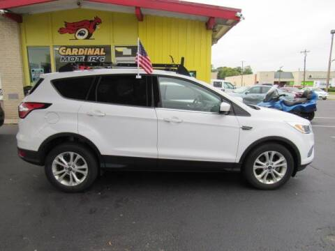 2017 Ford Escape for sale at Cardinal Motors in Fairfield OH