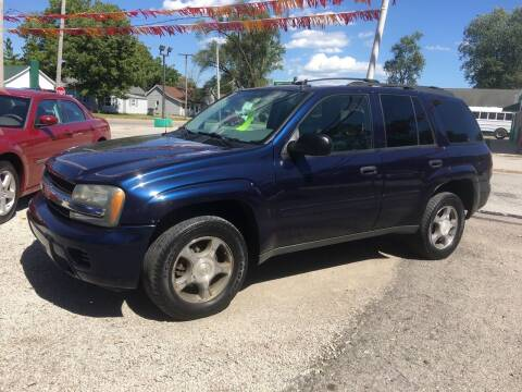 2007 Chevrolet TrailBlazer for sale at Antique Motors in Plymouth IN