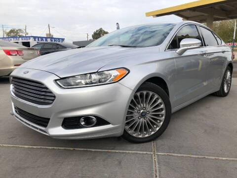 2015 Ford Fusion for sale at DR Auto Sales in Glendale AZ