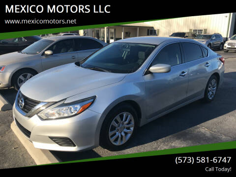 2016 Nissan Altima for sale at MEXICO MOTORS LLC in Mexico MO