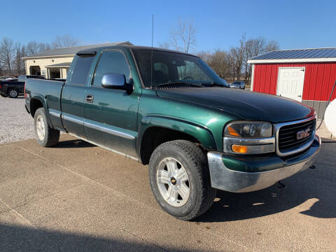2002 GMC Sierra 1500 for sale at Family Car Farm in Princeton IN