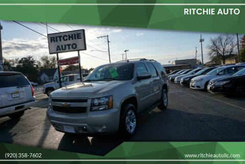 2008 Chevrolet Tahoe for sale at Ritchie Auto in Appleton WI