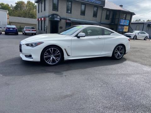 2019 Infiniti Q60 for sale at Sisson Pre-Owned in Uniontown PA