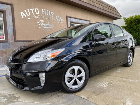 2012 Toyota Prius for sale at Auto Hub, Inc. in Anaheim CA