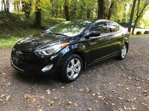 2013 Hyundai Elantra for sale at McMinnville Auto Sales LLC in Mcminnville OR