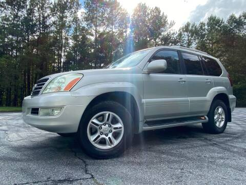 2005 Lexus GX 470 for sale at El Camino Auto Sales - Global Imports Auto Sales in Buford GA