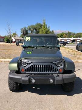 2009 Jeep Wrangler Unlimited for sale at Select AWD in Provo UT