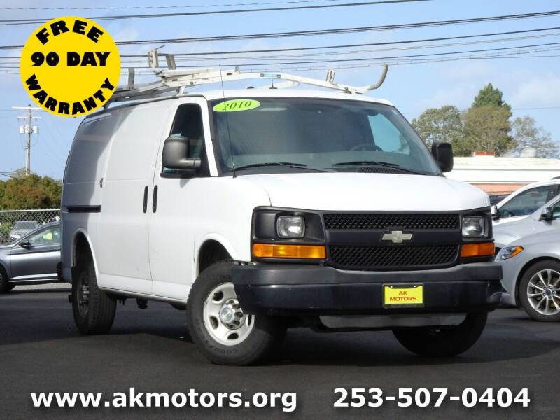 2010 Chevrolet Express Cargo for sale at AK Motors in Tacoma WA