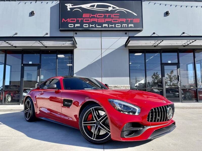 2018 Mercedes-Benz AMG GT for sale at Exotic Motorsports of Oklahoma in Edmond OK