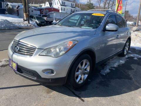 2009 Infiniti EX35 for sale at King Auto Sales in Leominster MA