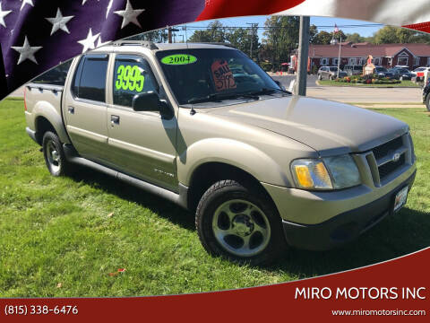 2004 Ford Explorer Sport Trac for sale at Miro Motors INC in Woodstock IL
