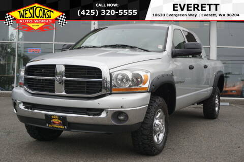 2006 Dodge Ram Pickup 3500 for sale at West Coast Auto Works in Edmonds WA