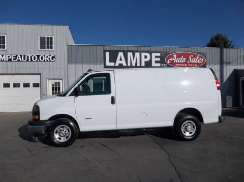 2018 Chevrolet Express Cargo for sale at Lampe Auto Sales in Merrill IA