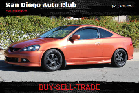 2005 Acura RSX for sale at San Diego Auto Club in Spring Valley CA