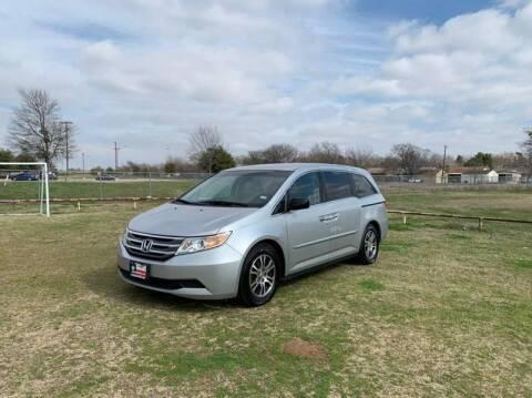 2012 Honda Odyssey for sale at LA PULGA DE AUTOS in Dallas TX