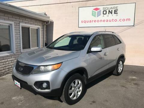 2011 Kia Sorento for sale at SQUARE ONE AUTO LLC in Murray UT