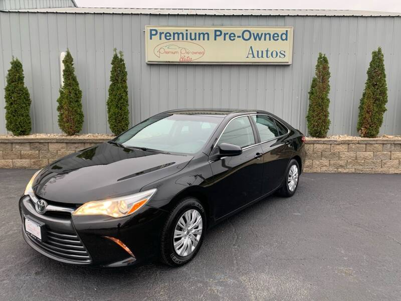 2015 Toyota Camry for sale at PREMIUM PRE-OWNED AUTOS in East Peoria IL
