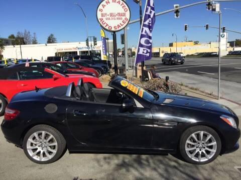 2016 Mercedes-Benz SLK for sale at San Mateo Auto Sales in San Mateo CA