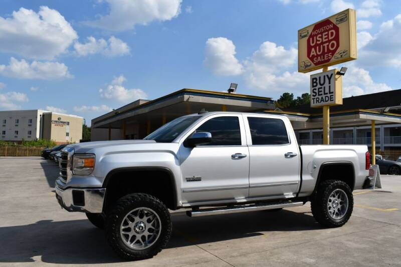 2015 GMC Sierra 1500 for sale at Houston Used Auto Sales in Houston TX