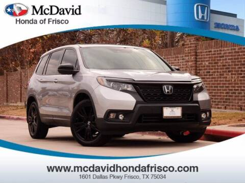 2019 Honda Passport for sale at DAVID McDAVID HONDA OF IRVING in Irving TX