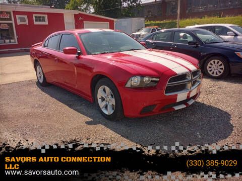 2012 Dodge Charger for sale at SAVORS AUTO CONNECTION LLC in East Liverpool OH