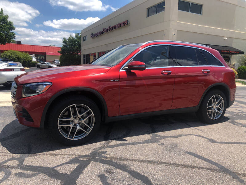 2016 Mercedes-Benz GLC for sale at European Performance in Raleigh NC