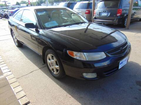 2001 Toyota Camry Solara for sale at World Wide Automotive in Sioux Falls SD