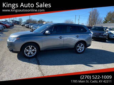 2014 Mitsubishi Outlander for sale at Kings Auto Sales in Cadiz KY