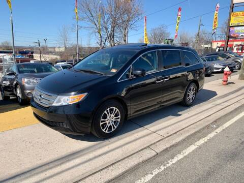 2012 Honda Odyssey for sale at JR Used Auto Sales in North Bergen NJ